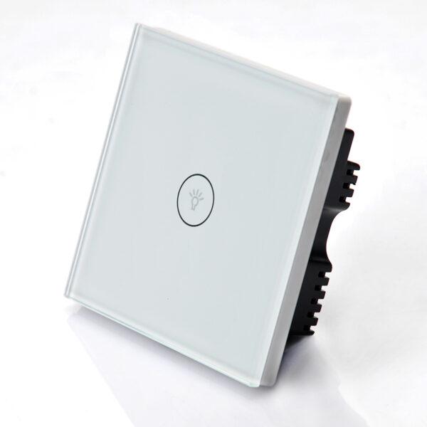 Intrerupator inteligent cu ecran tactil, 1 canal – Model ES-WTWS-1