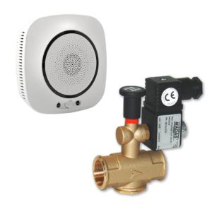 """kit senzor inteligent de gaz SFL-818 plus electroventil Madas, G3/4"""""""