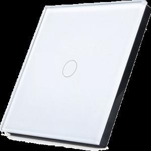 Telecomanda RF cu touch cu 1 canal, alb